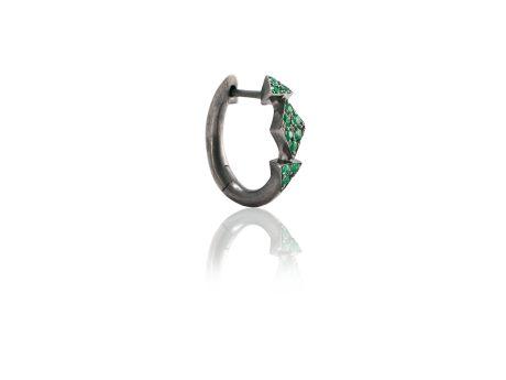 Mini Creola Triangoli Smeraldi